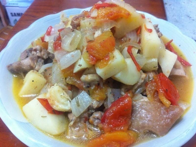 地中海式番茄雞