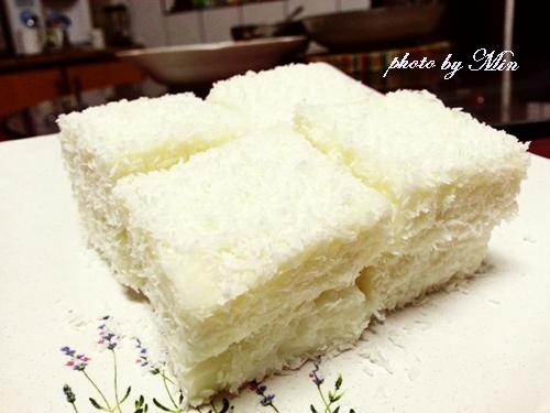 椰香鮮奶雪花糕