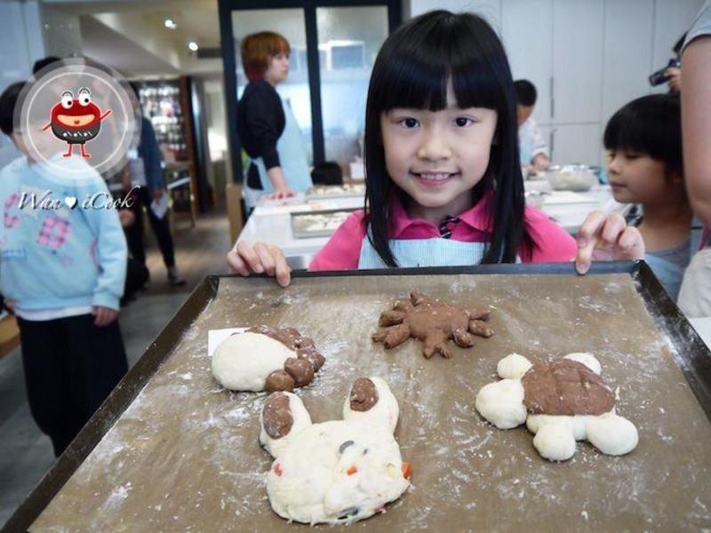 "♡宛の烘培好""食""光 ✿ Panasonic Love Cooking X 手邑「大手拉小手 一起創意玩麵包」 體驗"