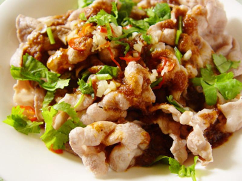 【厚生廚房】蒜香沙茶薄肉片