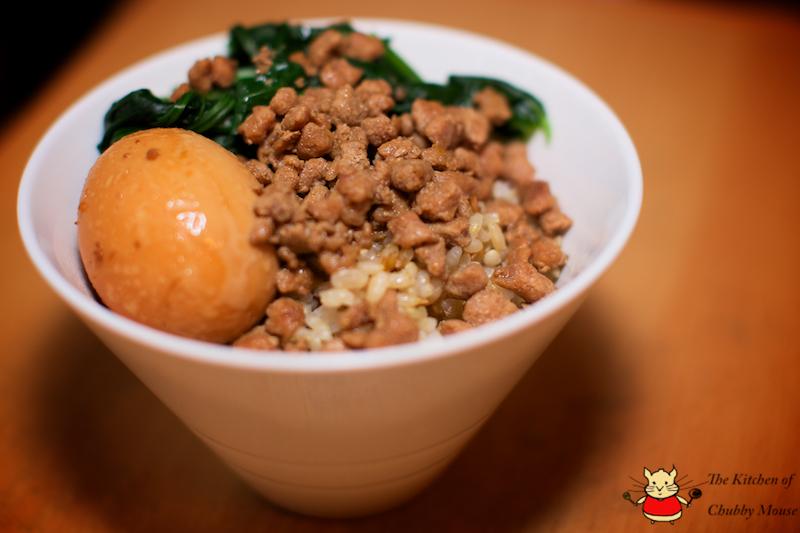 台灣小吃-肉燥飯