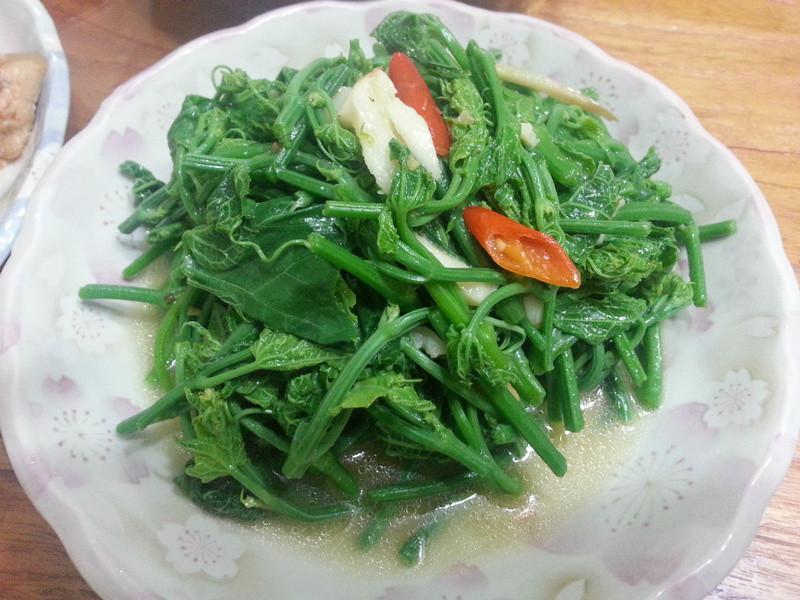 清炒龍鬚菜