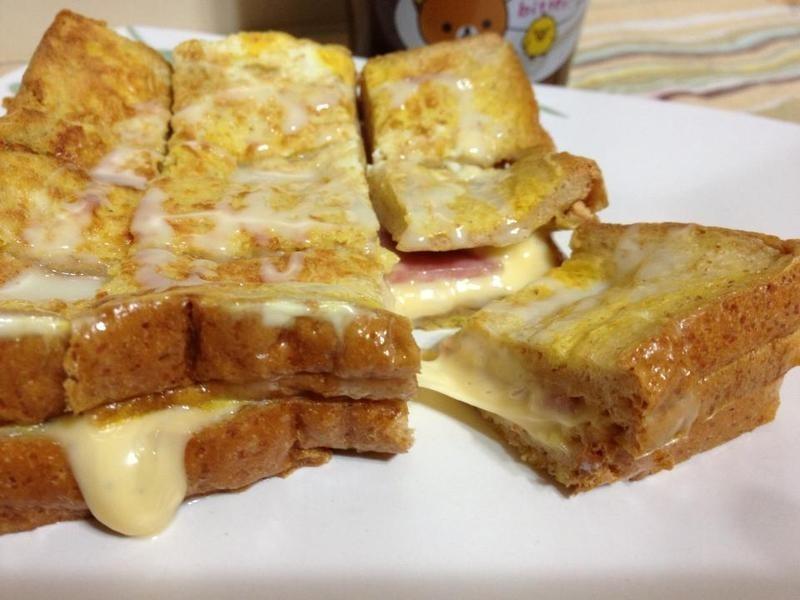[小米愛料理] 法式火腿乳酪土司