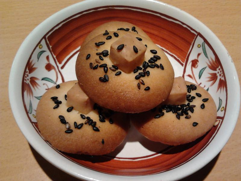 黑芝麻起司鹹餅乾