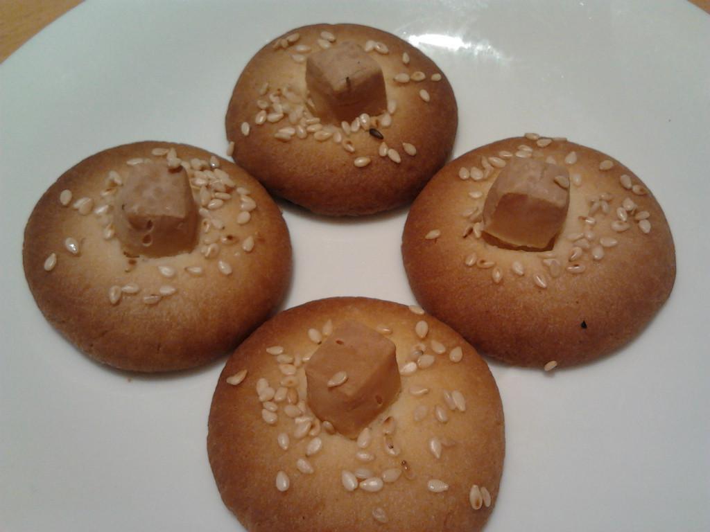 白芝麻起司鹹餅乾