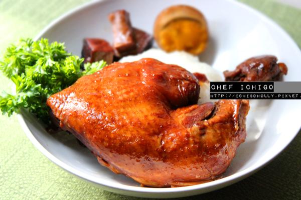 簡易香滷雞腿飯+ 完美水煮蛋三秒剝殼的秘密