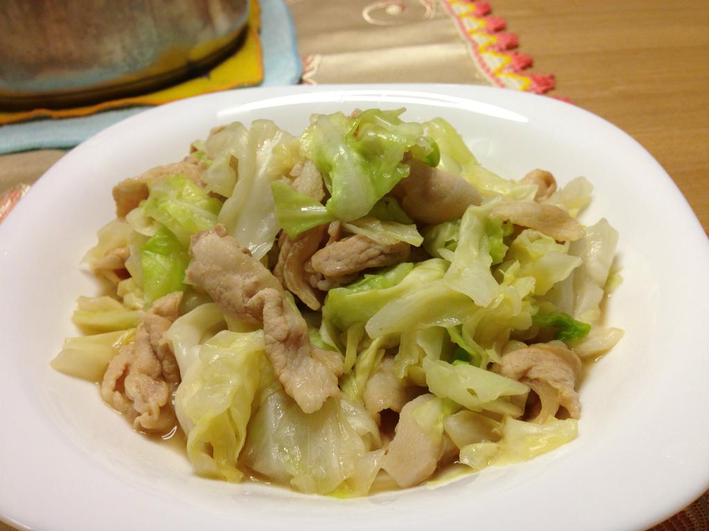 [SY料理實驗室] 熱炒豬肉高麗菜