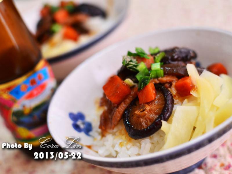 【李錦記125週年舊庄特級蠔油】香菇瘦肉飯