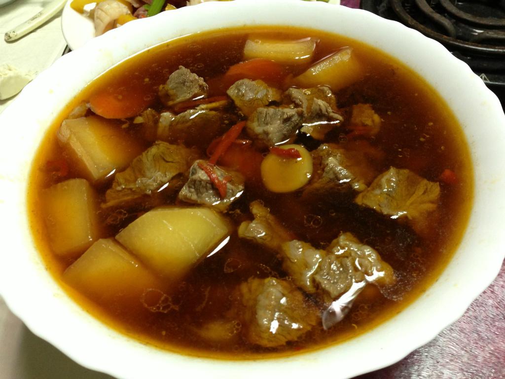 熱天也開胃的燉牛肉湯