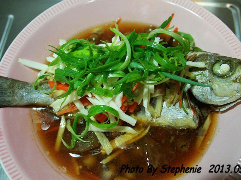 新鮮就是好吃-清蒸海魚