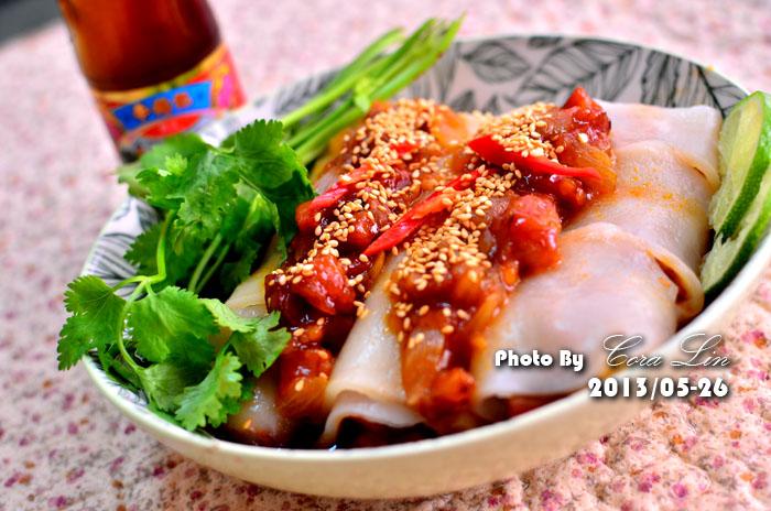 【李錦記125週年舊庄特級蠔油】叉燒香腸蒸河粉