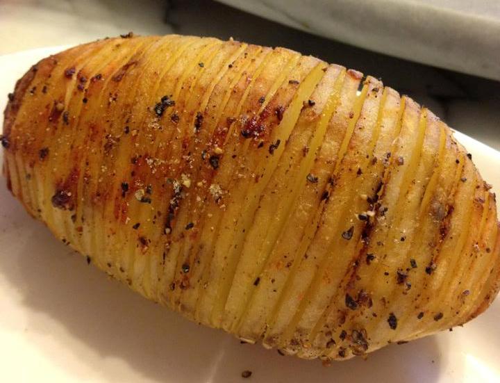 烤馬鈴薯(手風琴馬鈴薯)