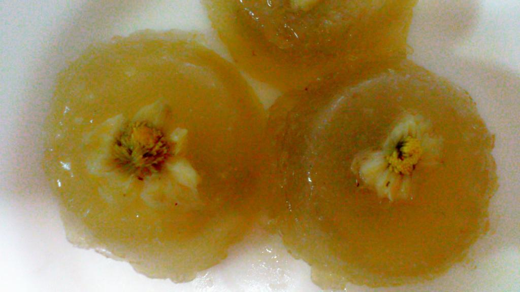 菊花马蹄糕