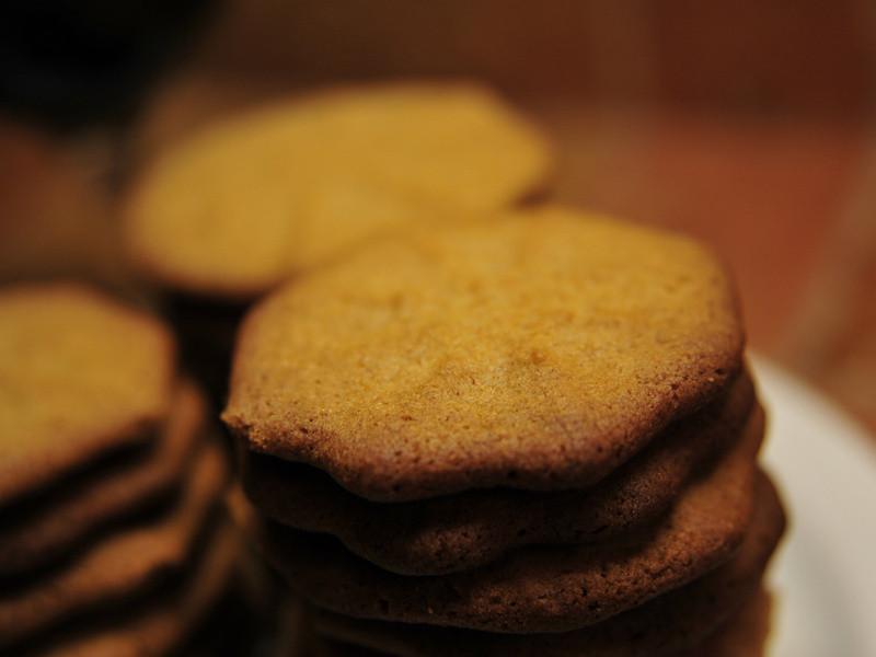 蜂蜜杏仁奶油脆餅 | Honey Almond Shortbread