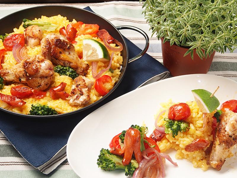西班牙燉飯<雞腿版>