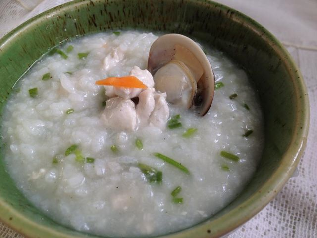 【副食品】薑香蛤味魚柳粥