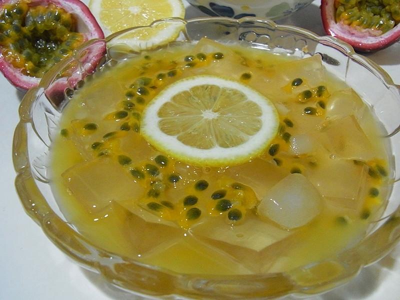 自己洗愛玉--檸檬愛玉凍