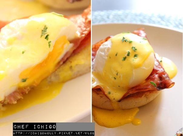 早餐班奈迪蛋Eggs benedict