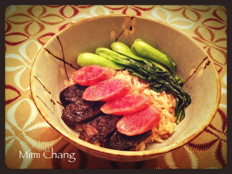 Mimi♥砂鍋臘腸飯(兩人份)