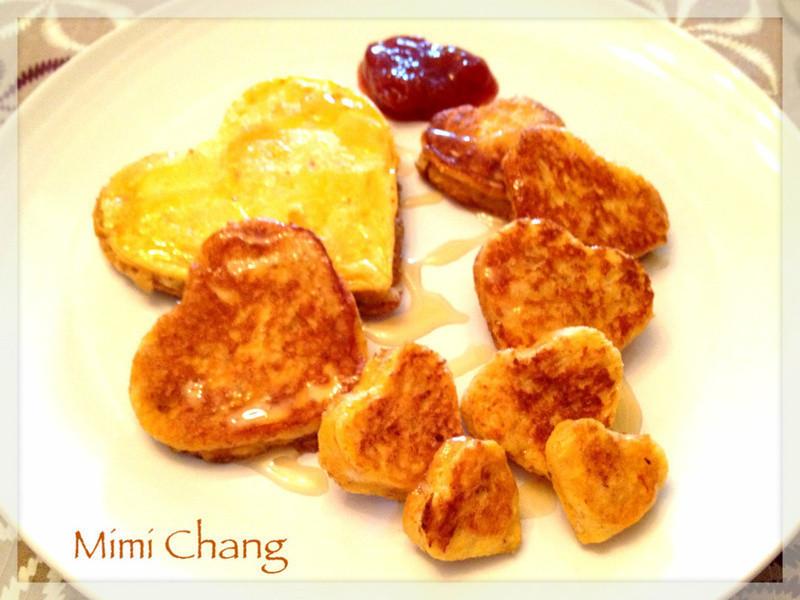 Mimi♥愛心法式吐司