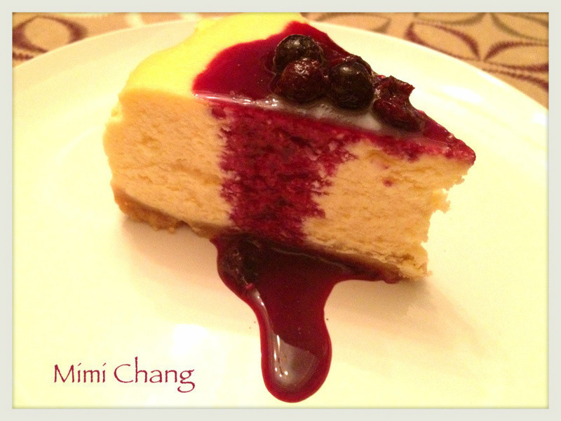Mimi♥紐約香草起司蛋糕with藍莓醬