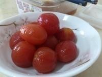 梅湯梅粉漬小蕃茄