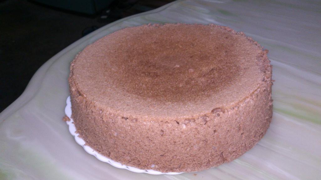 巧克力戚風蛋糕(電鍋版)