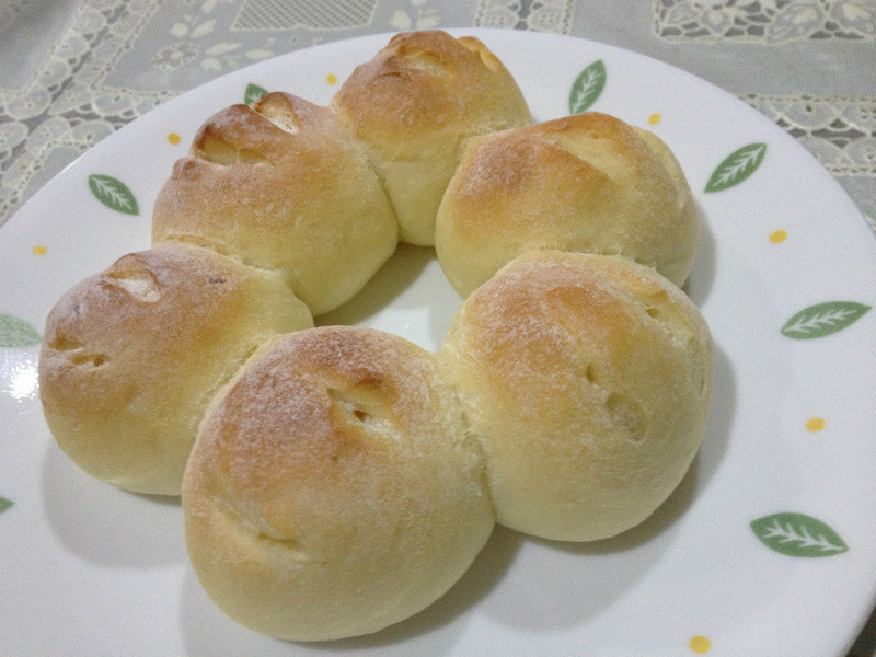 皇冠起司麵包
