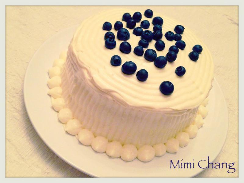 Mimi♥檸檬藍莓乳酪起司蛋糕