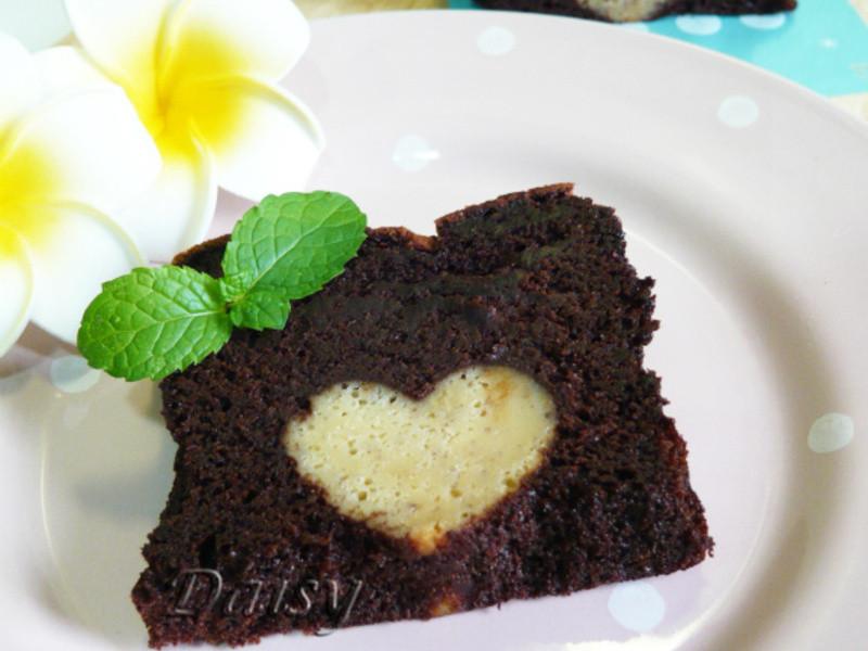 濃情藏心巧克力蛋糕