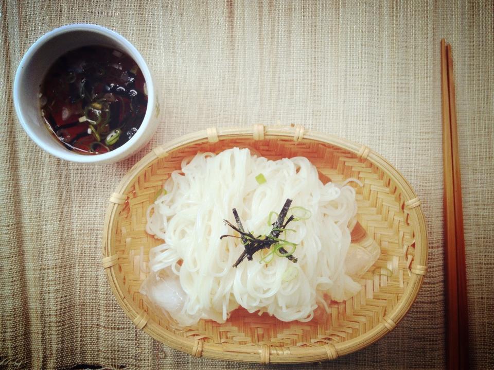 日式流水涼麵