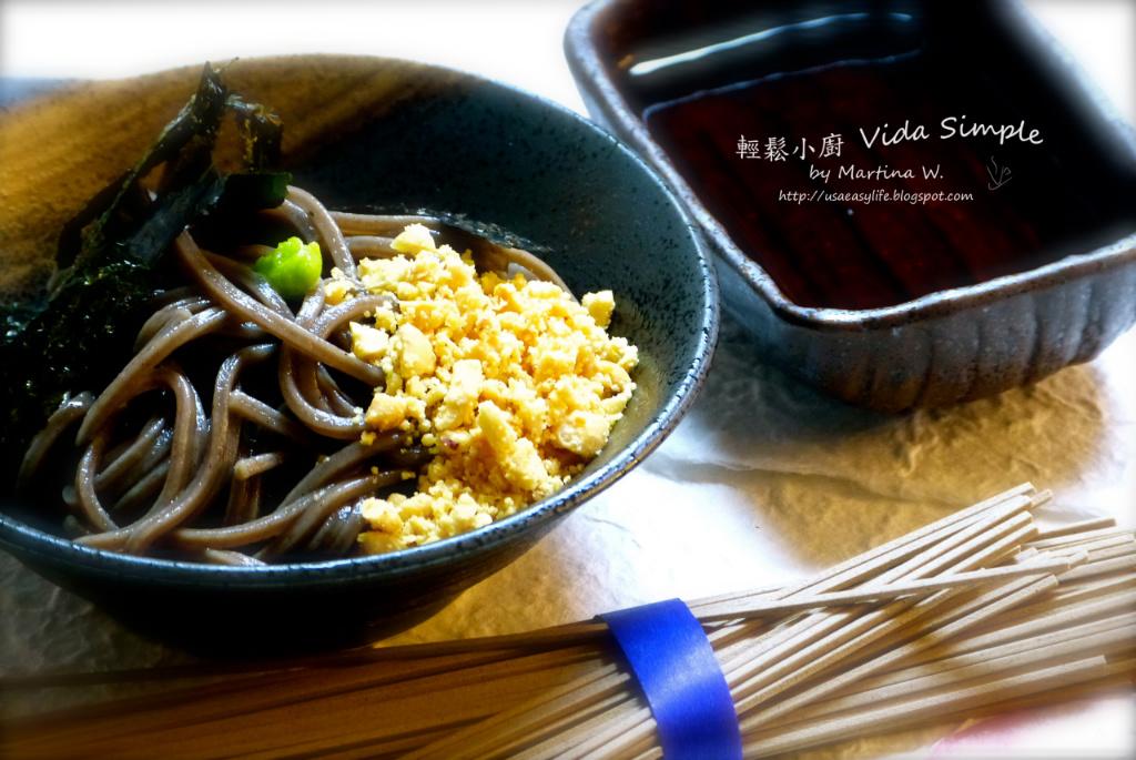 日式冷蕎麥麵