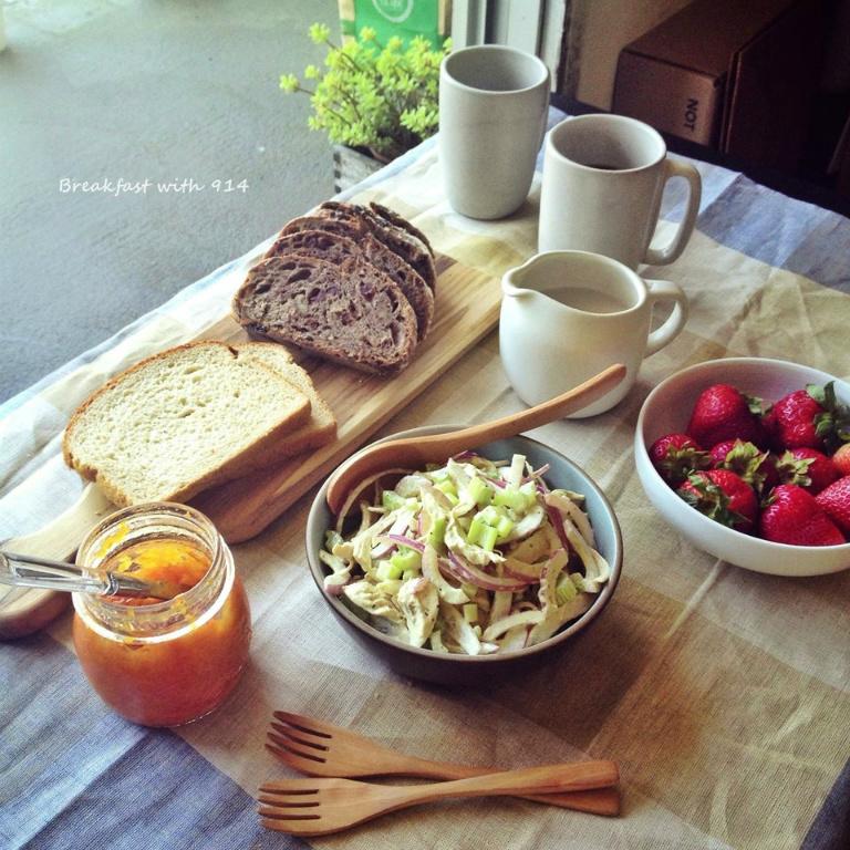 【夏日沙拉系列】紫洋蔥芹菜雞肉沙拉