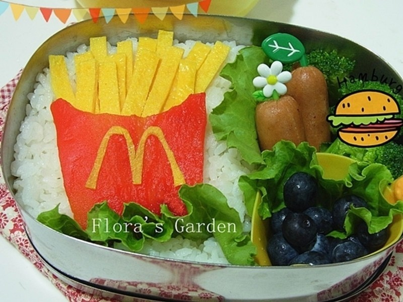 健康薯條~M當勞薯條造型便當