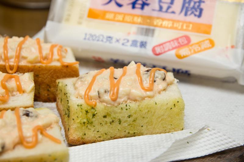 桂冠夏至涼拌-蒜味吐司沙拉