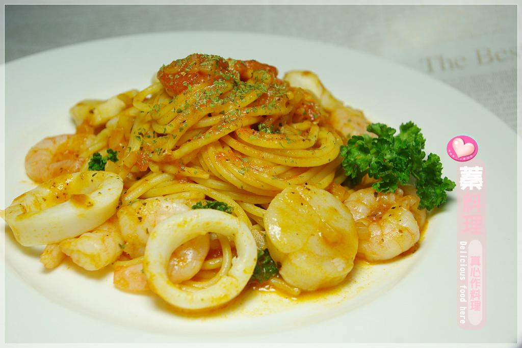 【Classico義遊味境】番茄羅勒海鮮義大利麵