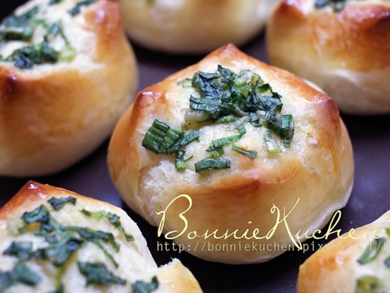 [邦妮廚房]蔥花麵包