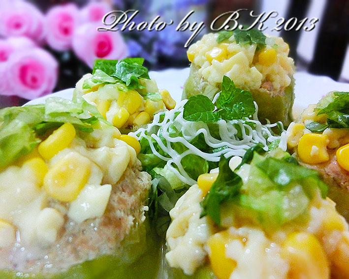絲瓜鑲肉(清爽加料版)【桂冠夏至涼拌】