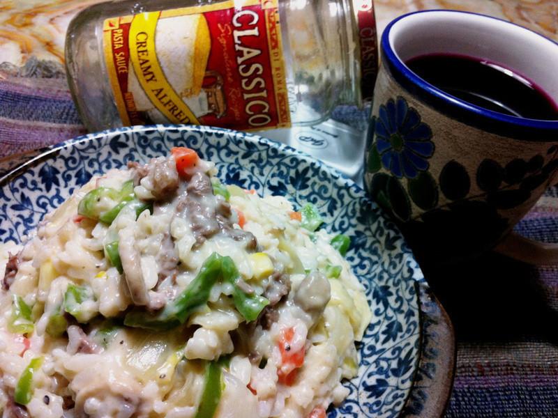 Classico義大利麵醬-食蔬白醬牛肉燉飯