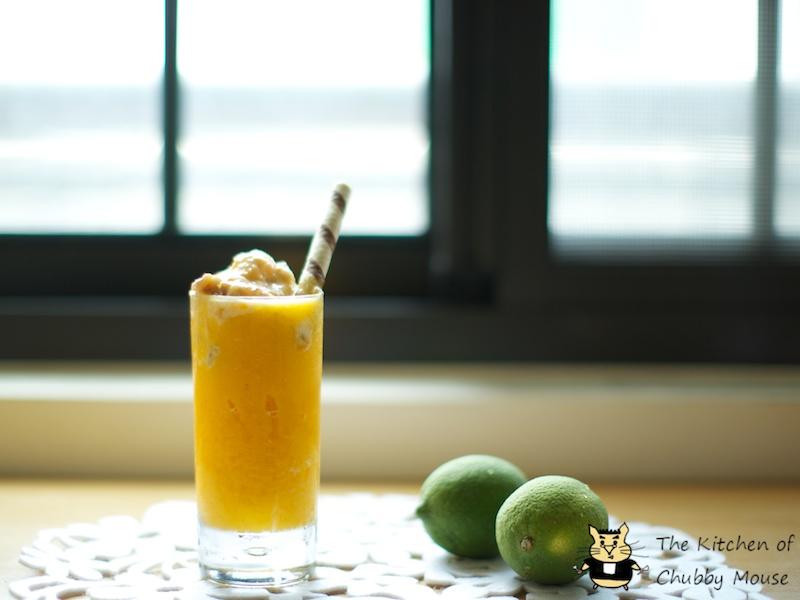 夏日午茶時光 - 芒果冰沙