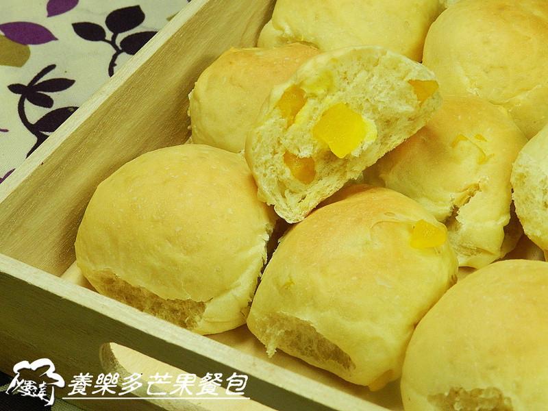 ㄚ曼達的廚房~養樂多芒果餐包