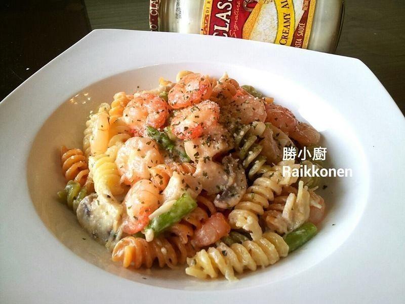 【Classico義遊味境】蘑菇鮮蝦螺旋麵