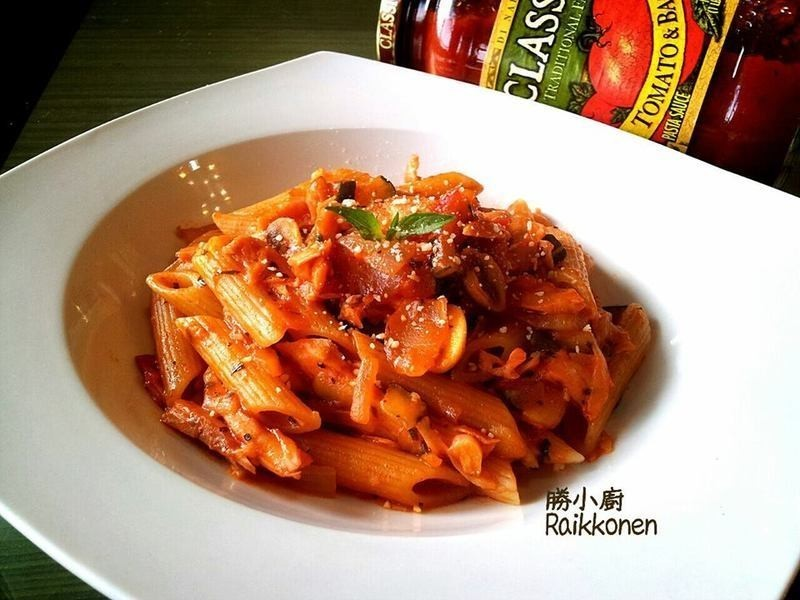 【Classico義遊味境】紅醬燻雞斜管麵