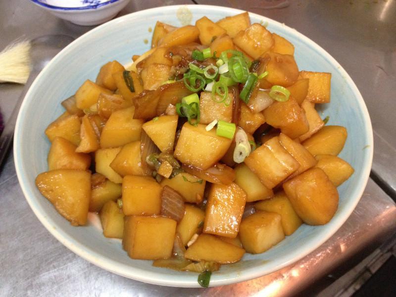 [韓式]醬油炒馬鈴薯감자볶음