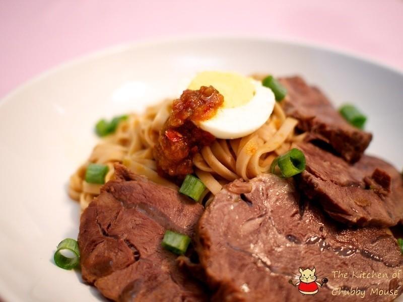 辣牛肉冷麵