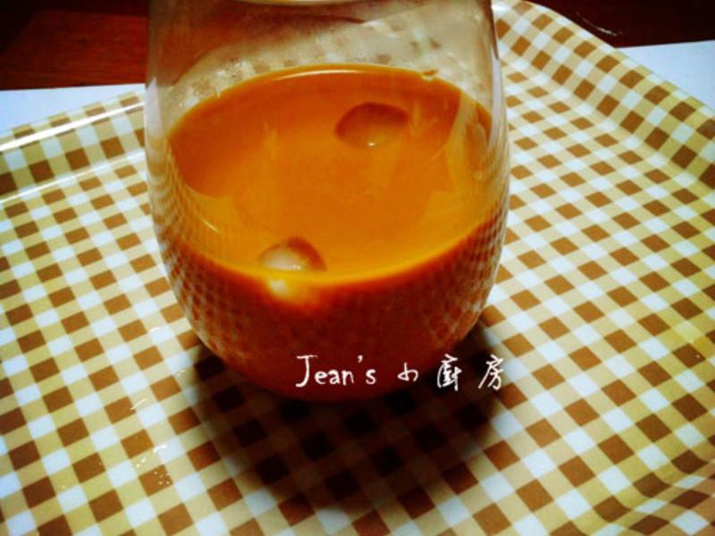泰式奶茶-插煙