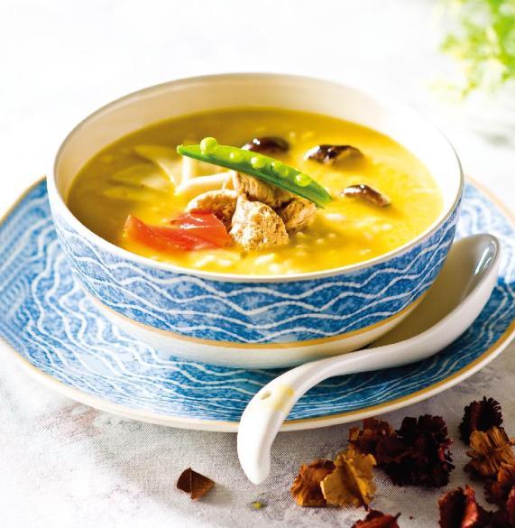 《九陽上菜》豆漿什菇小米粥