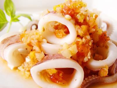 【厚生廚房】鮮蔬醬拌透抽