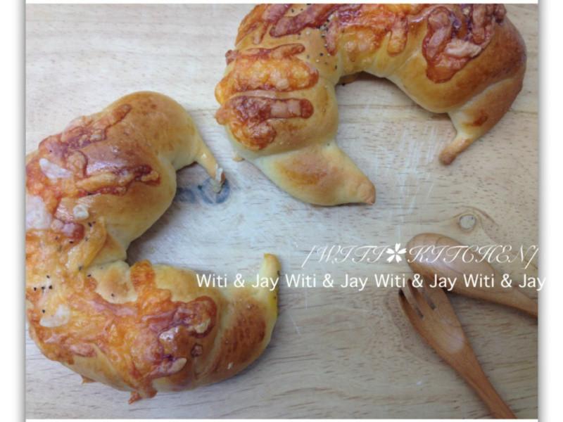 [Witi✿Kitchen]焗起司牛角麵包