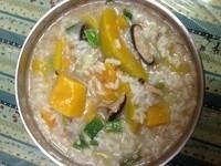 香菇黃金角粥